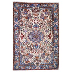 Persian Nahavand Hand Knotted Oriental Rug