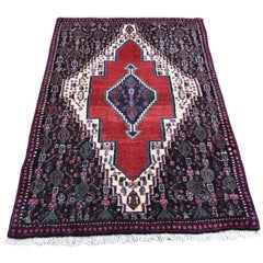 Persian Senneh Pure Wool Hand Knotted Oriental Rug
