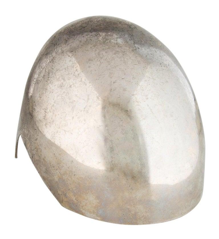 New Rare Alexander McQueen Limited Edition Runway Brass Helmet W/ Tags S/S 2014  1