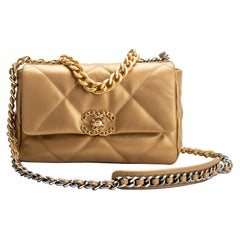 New RARE Chanel Gold 19 Bag