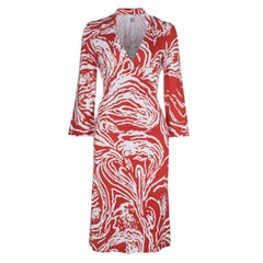 NEW Rare Diane von Furstenberg DVF Signature Wrap Dress Vintage Print Reissue