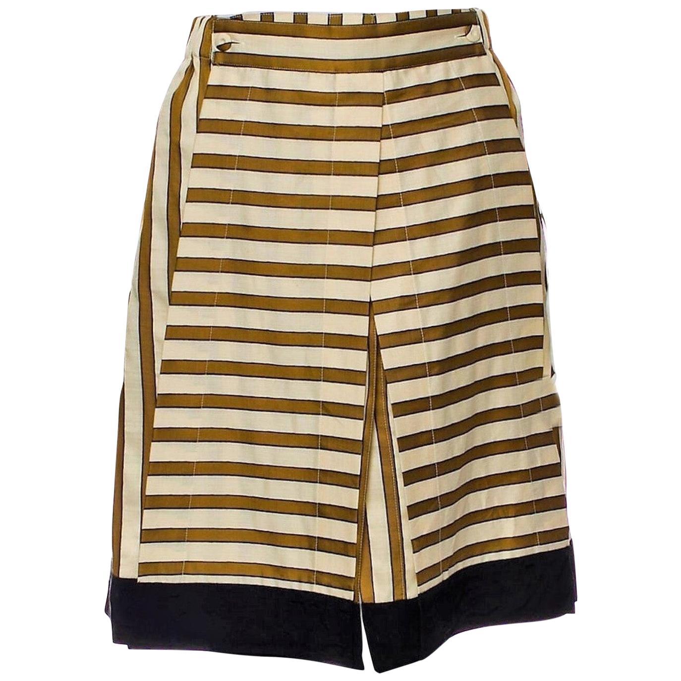 New Rare Fendi Karl Lagerfeld Runway Skirt S/S 2012  $1210