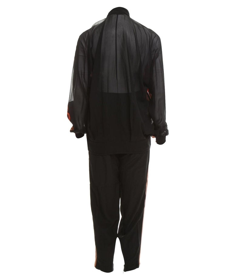 New Rare Gucci Runway Ad Silk Pantsuit Suit & Pants S/S 2014 Sz 44/38 U.S. 6/8 For Sale 6