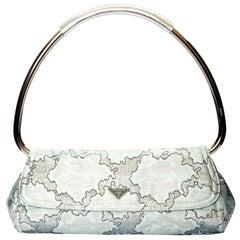 New Rare Prada Limited Edition Lurex Swing Corset Bag