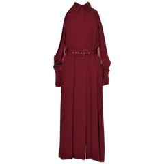 New Rare Salvatore Ferragamo Red Silk Dress F/W 2018  With Tags $3200