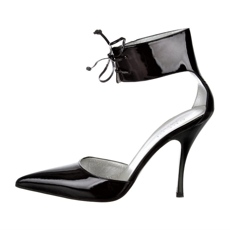 New Rare Tom Ford for Gucci Kate Moss Ad Runway Heels Pumps Sz 8 For Sale
