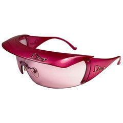 "New Rare Vintage Christian "" Golf "" WQ8 Candy Pink Collector Item Sunglasses"