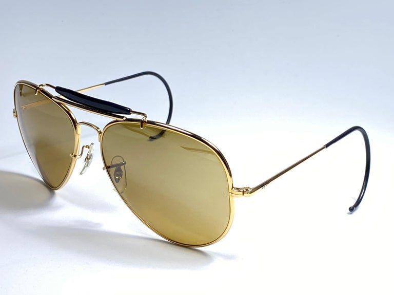 New Ray Ban Olympic Series 1992 RB50 62Mm Outdoorsman Collector Item Sunglasses For Sale 1
