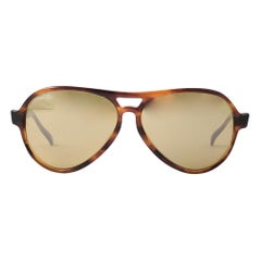 New Ray Ban Vagabond Tortoise RB50 Lens Sunglasses Made in USA