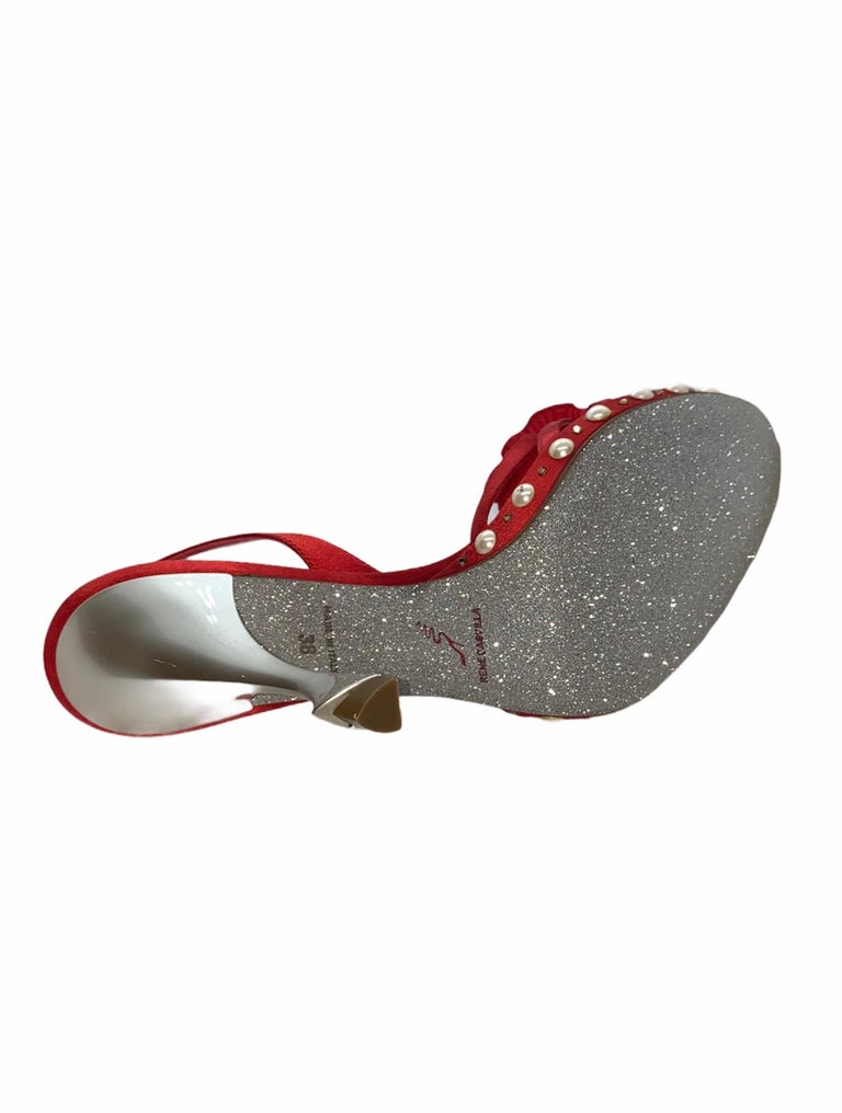 BNIB RENE CAOVILLA CRYSTAL DROP HIGH HEELS BEAUTIFULLY SPARKLING AND SO GLAMOROUS      Condition: New with RENE CAOVILLA dustbag and box, brandnew & perfect condition  DETAILS:       A RENE CAOVILLA classic signature piece that will last you for