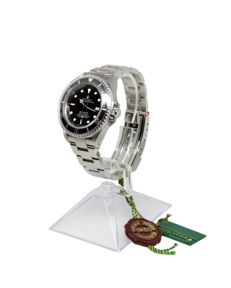 NEW Rolex Sea Dweller 16600 Y Series 2002 Wristwatch Full Set For Sale 1