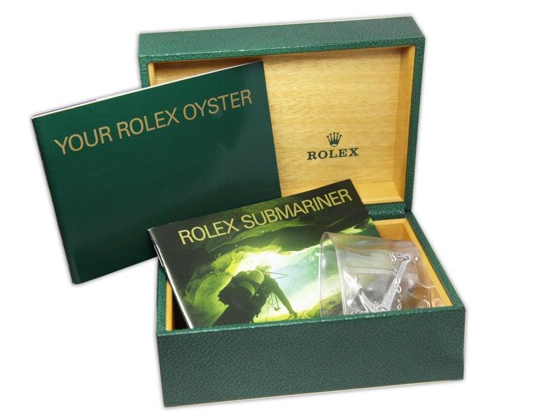 NEW Rolex Sea Dweller 16600 Y Series 2002 Wristwatch Full Set For Sale 2