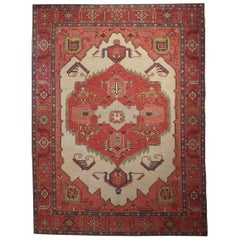 New Rug from Afghanistan, Serapi Design Superior Color and Drawing Wool