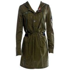 New Saint Laurent Runway Ad Denim Dress or Jacket Sz 44 $2250