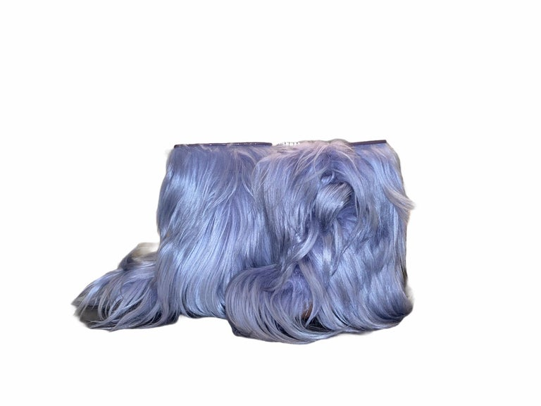 GORGEOUS  SEE by CHLOE  FUR SNOW WINTER BOOTS  PERFECT FOR THE WINTER SEASON  DETAILS:  A See by CHLOE signature piece that will last you for years Lavender color with beautiful long fur trimmings Fully lined  Simply pulls on Hits above the