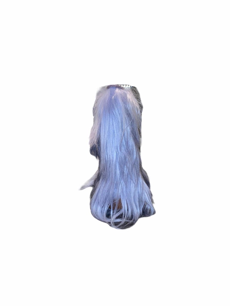 NEW See by CHLOE Moon Snow Winter Yeti Fur Boots For Sale 2