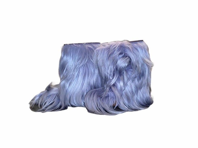 NEW See by CHLOE Moon Snow Winter Yeti Fur Boots For Sale 4