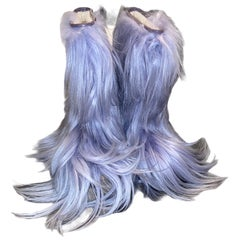 NEW See by CHLOE Moon Snow Winter Yeti Fur Boots