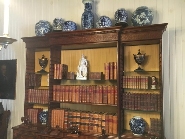 Collection of assorted leather bound books. Please note these are priced per book and we have a very large inventory of leather bound books, mostly decorative and in other languages. The additional images are some of the books we currently have in