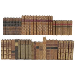 New Shipment of over 200 Leather Bound Books in English, Photo's Are of Sets