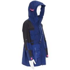 new THE NORTH FACE KAZUKI KARAISHI Kelp Tan Blue Futurelight raincoat M / L