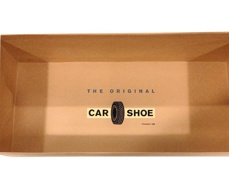 New The Original Prada Car Shoe Flat Moccasin Shearling House Driving  Sz 36 For Sale 6