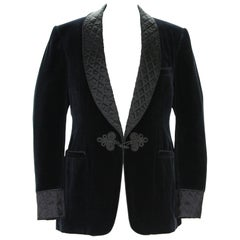 New Tom Ford for Gucci Black Velvet Smoking Dinner Jacket It. 54 R- US 44 R