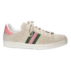 Tom Ford for Gucci Crocodile and Suede Sneakers Tennis Shoes Flats