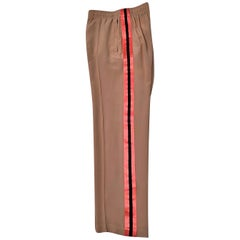 New Tom Ford For Gucci Farewell Collection Silk Runway Pants S / S 2004