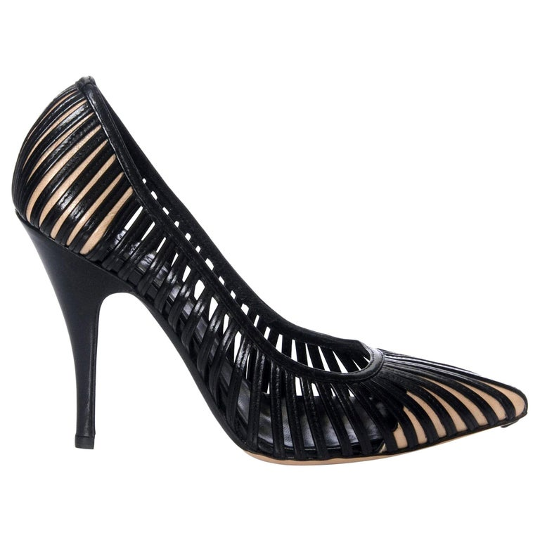 New Tom Ford for Gucci Kate Moss Cage Heels Pumps Rare  For Sale