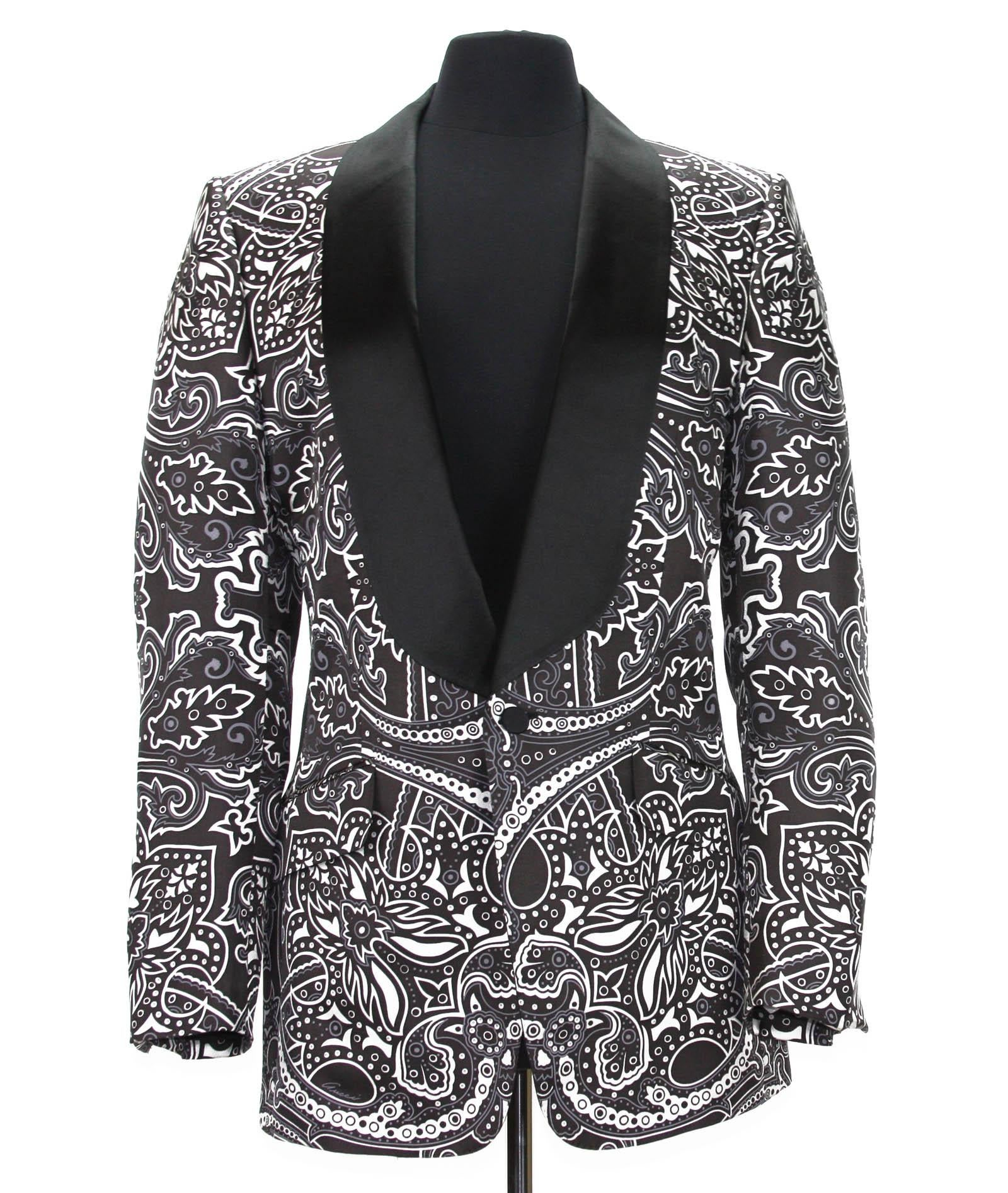2a673aa76 New Tom Ford for Gucci Men's Silk Cocktail Blazer Spring 2004 It 52 R - US  42 R For Sale at 1stdibs