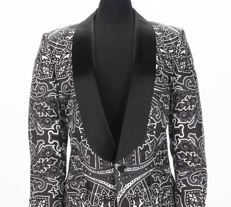 8971d634b New Tom Ford for Gucci Men's Silk Cocktail Blazer Spring 2004 It 52 R - US