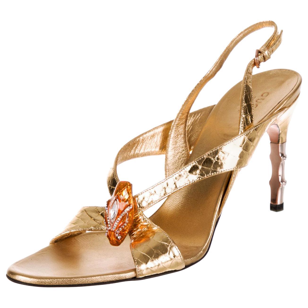 929782846a9c Rose Gold Sandal Heels - 17 For Sale on 1stdibs