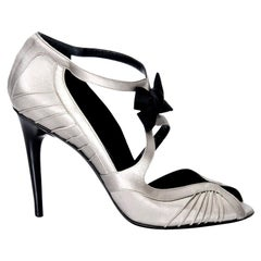 New Tom Ford for Gucci Satin Runway Sarah Jessica Parker Heels Pumps Sz 10