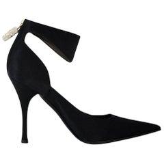 New Tom Ford for Gucci Swarovski Rosario Dawson Ad Runway Heels Pumps Sz 7