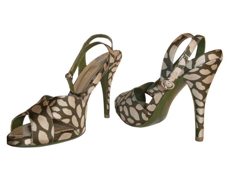 New Tom Ford for Yves Saint Laurent New YSL Eva Lips Heels Sz 38.5 For Sale 5