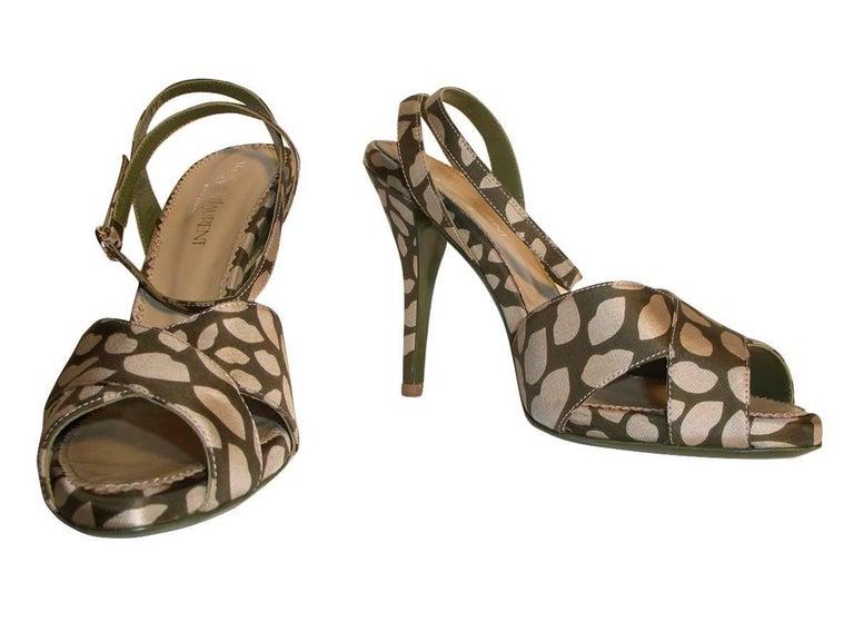 New Tom Ford for Yves Saint Laurent New YSL Eva Lips Heels Sz 38.5 For Sale 6