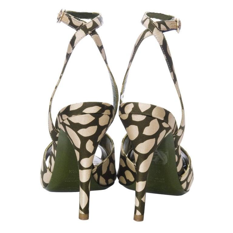 New Tom Ford for Yves Saint Laurent New YSL Eva Lips Heels Sz 38.5 For Sale 2