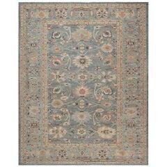 Doris Leslie Blau Collection Traditional Sultanabad Design Handmade Wool Rug