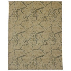 New Transitional Area Rug With Contemporary Abstract Style and Biophilic Design