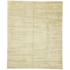 New Transitional Area Rug with Cozy, Hygge Vibes and Warm Amish-Shaker Style