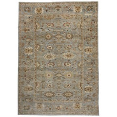 New Transitional Persian Sultanabad Palace Rug with Neoclassic Style