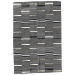 New Tribal Design Handwoven Flat Rug Kilim