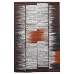 Tribal Design Handwoven Flat Rug Kilim