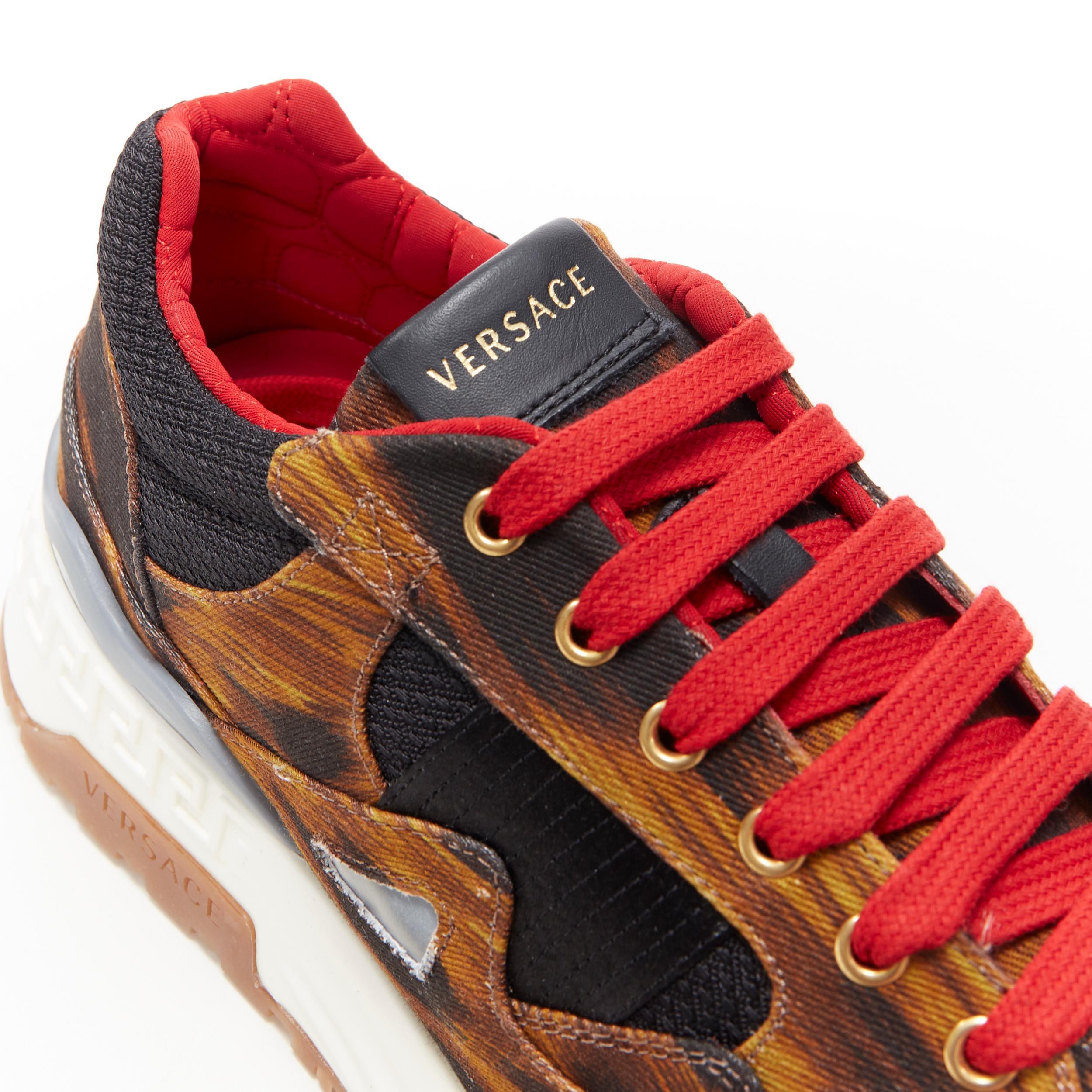 new VERSACE Achilles leopard Animalier