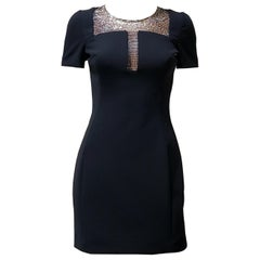 New VERSACE COLLECTION CRYSTAL EMBELLISHED DRESS 40 - 4