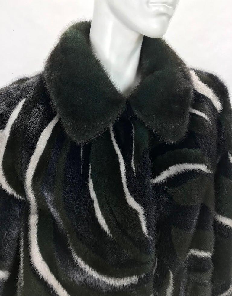 Women's New Versace Mink Fur Jacket For Sale