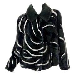 New Versace Mink Fur Jacket