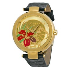 New Versace Mystique Hibiscus I9Q80D2HI S009 Steel Quartz Watch