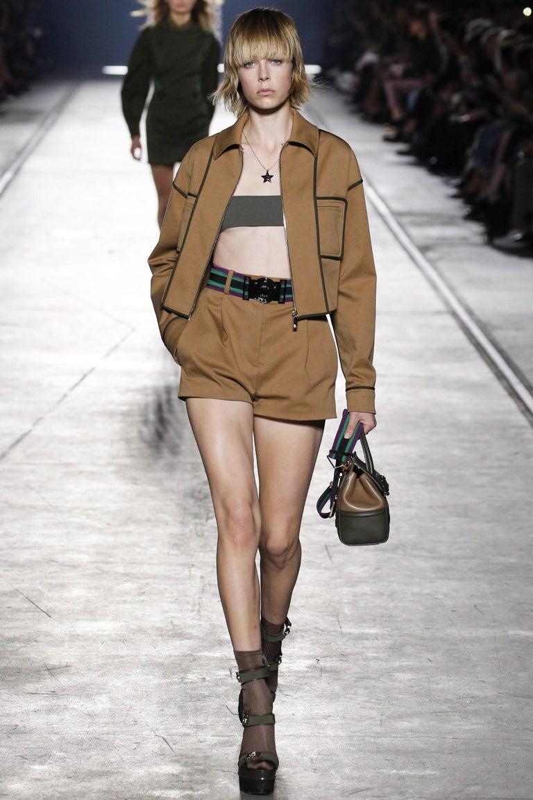 New Versace S/S 2016 Gigi Hadid  Medusa Runway Ad Heels Platform Pumps Sz 36.5 For Sale 7